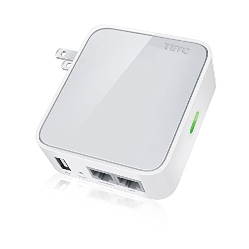Trouter 150mbps wireless n mini pocket router repeater client 2 lan ports usb port for - Wifi repeater with usb port ...
