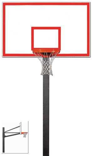 誕生日プレゼント Gared Endurance固定高さバスケットボールフープと72