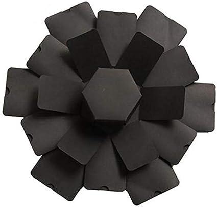 Caja De Regalo De Explosión Hexagonal Álbum Love Memory Álbum De Bricolaje Sorpresa Multicapa, Regalo De Cumpleaños del Día De San Valentín