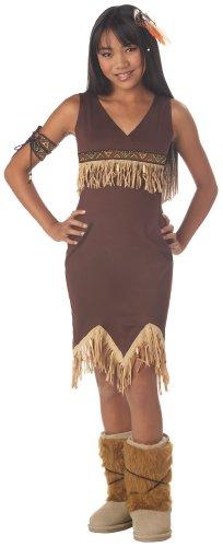 California Costumes Girls Tween Indian Princess Costume, Large
