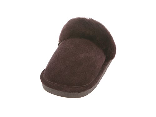 Fuzzies Ladies Cloud Rj's Womens Slippers Scuff Chocolate Nine 4pHPfnZPq