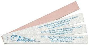 Tammy Taylor Peel 'n' Stick Long Lasing Zebra File 180 Grit 10-pk