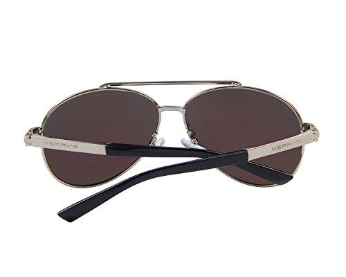 MERRYS Mens Polarized Sun glasses For Men Driving Sunglasses S8628 Blue