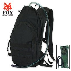 Fox Compact Hydration Backpack Black, Outdoor Stuffs
