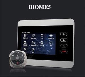 IHome 5 cámara Mirilla Digital inalámbrica WiFi con detección de Movimiento de Control por el teléfono