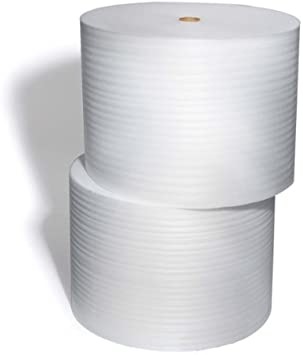 """1//16/"""" Thick//12/"""" Wide Perforated Every 12/"""" Foam Wrap 100 Foot Foam Roll"""