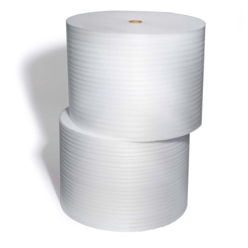 ValueMailers Perforated Dish Foam Roll 12'' Wide x 350' Long x 1/16'' Thick Perforated Every 12'' by ValueMailers