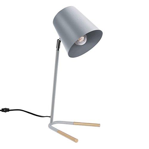 Oneach Metal Desk Lamp Office-Elegant Bedside M...