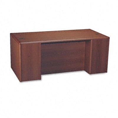 HON 10787RNN 10700 Single Pedestal Desk, Full Right Pedestal, 72w x 36d x 29 1/2h, Mahogany