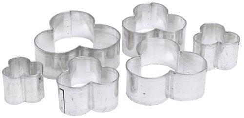 Kaiser Bakeware Clover Cookie Cutters (Set of 6)