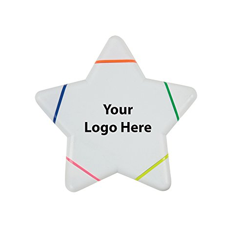- Star Highlighter - 150 Quantity - 2.35 Each - PROMOTIONAL PRODUCT/BULK/BRANDED with YOUR LOGO/CUSTOMIZED