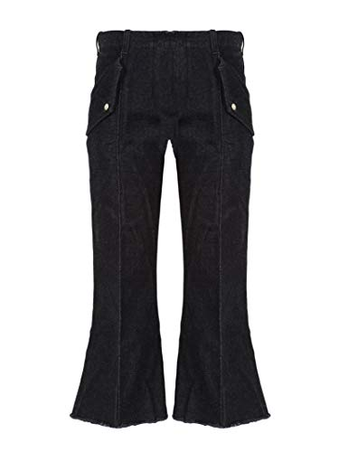 Pantalones de algod Pantalones negros negros de algod Pantalones negros XH0qAw