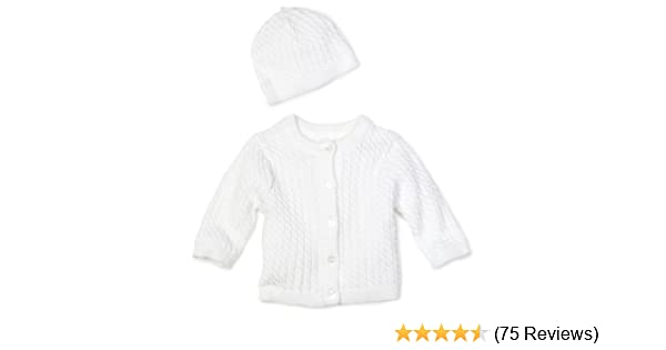 7356e6325 Amazon.com: Little Me Unisex-Baby Newborn Lovable Cable Sweater: Infant And Toddler  Sweaters: Clothing