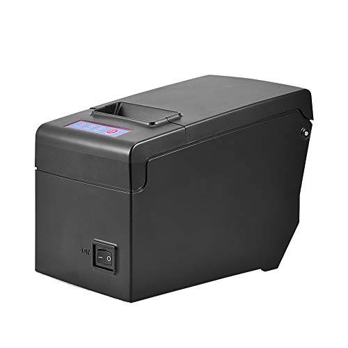 Wal front Direct Thermal Receipt Printer 100M Ethernet USB High Speed Portable Receipt Printer Support Windows Linux Android and iOS