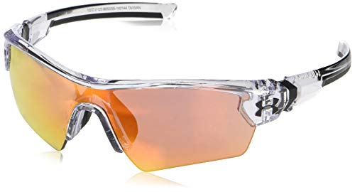Under Armour Ua Menace Shield Sunglasses, Clear, 122 mm (Sunglasses Armour Baseball Under)