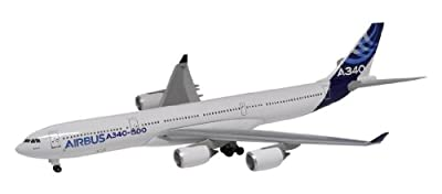 Dragon Models Airbus A340-500 - 2011 Livery Diecast Aircraft, Scale 1:400