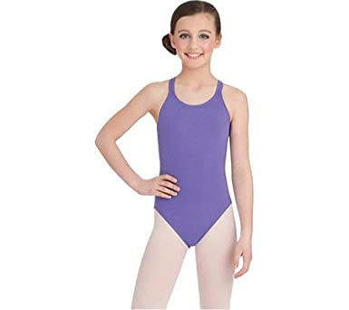 d89f2d8fe Amazon.com  Capezio Dance Girls  Double Strap Camisole Leotard (Set ...
