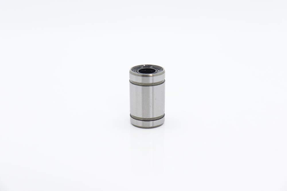 8x15x45 LM8LUU 4PC 3D Printer CNC Parts Linear Bearings Set for JGAurora A5//A5S//A1//A3S LM04//06//08//10//12UU LM6//8//10//12LUU Bearing