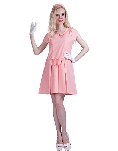 FantastCostumes Women's Pink First Lady Halloween Costume(Pink, (First Lady Costume)