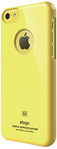 Elago Slim Fit Case for iPhone 5C Yellow