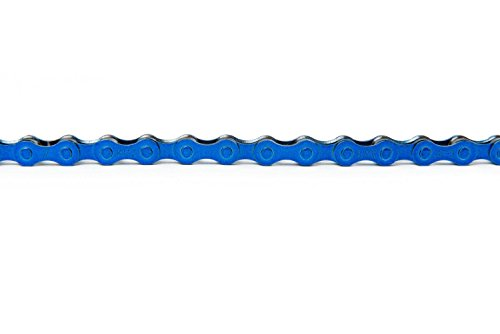 (KMC Z410 Bicycle Chain (1-Speed/1/2 x 1/8-Inch/112L), Blue )