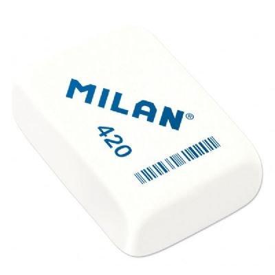 CAJA 20 GOMAS MILAN 420 RECTANGULAR (MIGA DE PAN) by MILAN