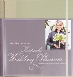 Martha Stewart's Keepsake Wedding Planner (Hardcover)--by Not Available (NA) [2003 Edition]