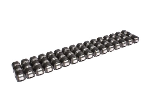 COMP Cams 877-16 Reduced Travel Race Hydraulic Roller Lifter for Small Block Ford Engines, (Set of 16) (Race Lifters Roller)