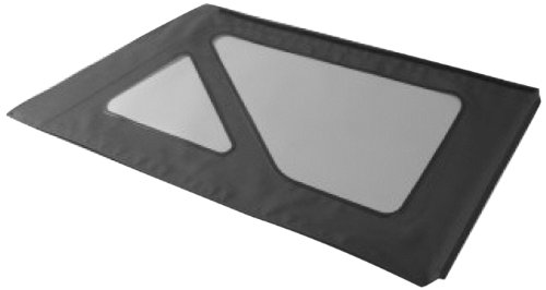 Bestop Window (Bestop 58134-35 Black Diamond Tinted Window Kit for Bestop Sailcloth Replace-A-Top for 2011-2018 Wrangler JK Unlimited)