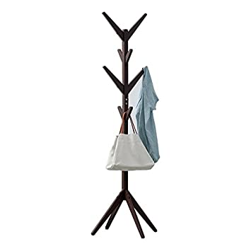 Amazon.com: JIANFEI Floor Standing Coat Rack Clothes Hat ...