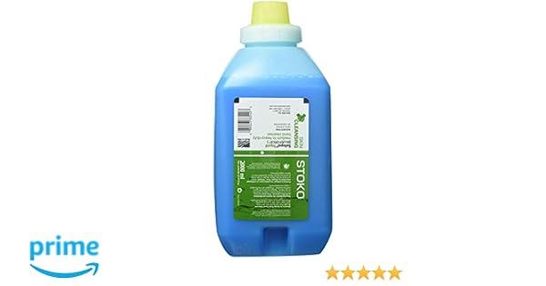Amazon.com: Stockhausen 33540 STOKO 2000 mL Soft Bottle Blue BlueForce Natural Or Fresh Scented Medium to Heavy Duty Hand Cleaner, English, 15.34 fl. oz, ...