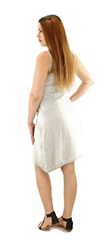 citydress24 - Vestido - trapecio - para mujer gris