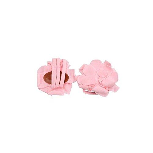 """accéssoire, couvre pie modelo """"pétalo, color rosa"""