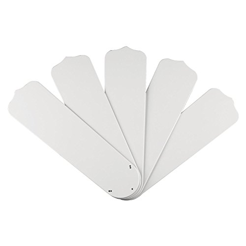 Westinghouse 7741400 Outdoor ABS Resin Fan Blades White (10 - Fan White Westinghouse Ceiling Outdoor
