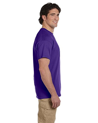 Hanes Comfort Blend Cotton Poly T-Shirt Purpur