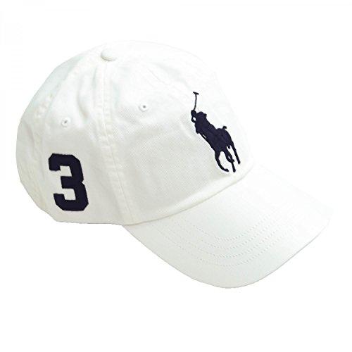 Ralph Lauren Casquette Big Poney blanche pour homme  Amazon.fr  Vêtements  et accessoires 2773fb78bf4
