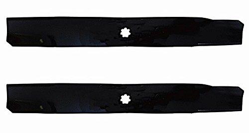 (2 Stens 330-611 John Deere Bagging Blade M154062, X300, X304, Z225, EZTrak 42