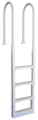 Main Access 200300 Pro Series White In-Pool Ladder for 48
