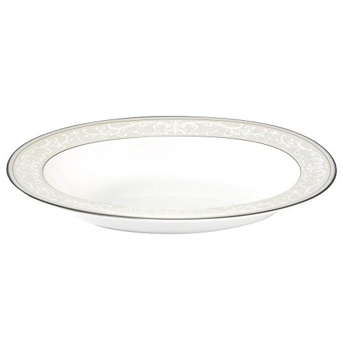 Nikko Pearl Symphony Oval Vegetable, (Pearl Platinum Open Vegetable Bowl)