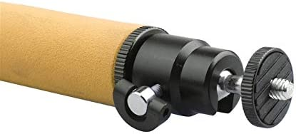 Color : Orange LED Flash Light Holder Sponge Steadicam Handheld Monopod with Gimbal for SLR Camera Durable