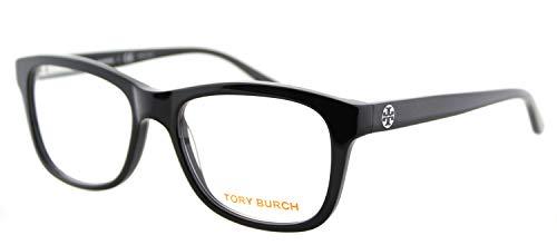 Tory Burch TY2038 Eyeglass Frames 501-52 - Black Frame, Demo Lens ()