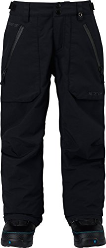 - Burton Kids' Gore-tex Stark Snow Pant, True Black W18, Medium