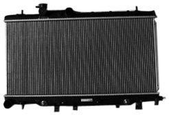TYC 13051 Subaru Impreza 1-Row Plastic Aluminum Replacement - Impreza Subaru Radiator 07