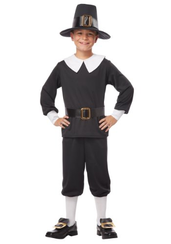 [California Costumes Pilgrim Boy Child Costume, Medium] (Boy Pilgrim Costumes)