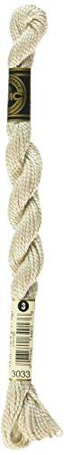 - DMC 115 3-3033 Pearl Cotton Thread, Light Mocha Brown