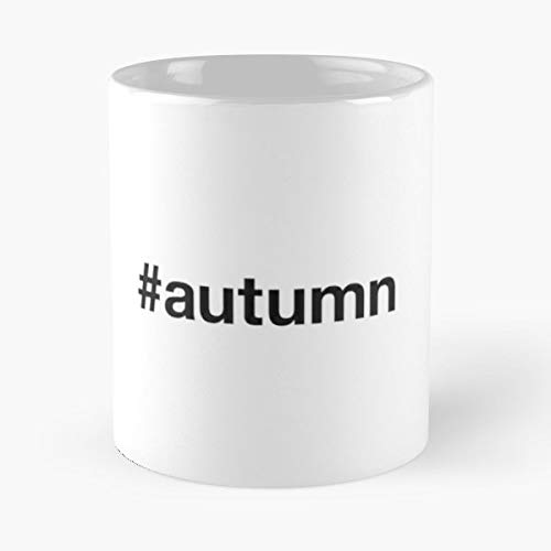 Autumn Season Seasons Leafs - 11 Oz Coffee Mugs Ceramic,the Best Gift For Holidays.]()