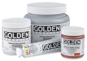 Golden Heavy Body Iridescent Acrylics - Iridescent Copper Fine - 32oz Jar