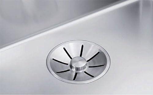 en Acier INOX Lisse vidage 90 mm ANDANO 400 U 1 cuve /à int/égrer sous Plan BLANCO cuve sans /égouttoir