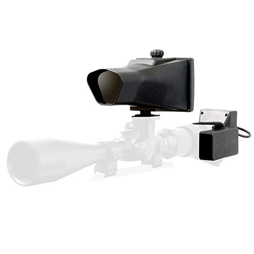 NiteSite Viper 110 Yards Identification Range Scope Mounted Night Vision System for Zero Light Hunting (Black, Full Kit) by Nite Site