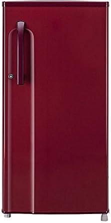 LG 188 L 2 Star Direct Cool Single Door Refrigerator(GL-B191KRLV, Ruby Luster)